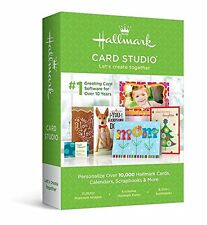 Brand New Hallmark Card Studio 2016 Greeting Card Software DVD W/ Video Tutorial
