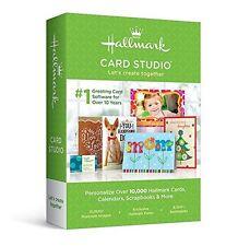 Brand New Hallmark Card Studio 2016 Greeting Card Scrapbook W/ Video Tutorial