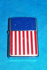 Ron American Flag Zippo Cigarette Lighter Old Glory Usa Us United States Patriot