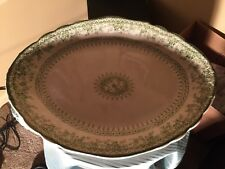 "Samuel Ford & co. Semi Porcelain 16"" platter"
