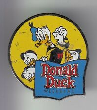 RARE PINS PIN'S .. DISNEY USA ANCIEN VINTAGE PRESSE DONALD DUCK & 3 NEVEUX ~17