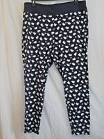 c0a25d9a5b3b New CACIQUE Navy Polar Bear Legging Skinny Pant LANE BRYANT Plus 14 16 or 22