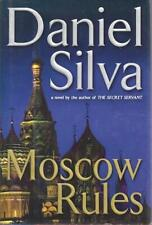 Moscow Rules (Gabriel Allon) by Daniel Silva SIGNED First Edition