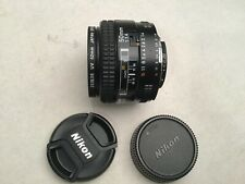 Nikon NIKKOR 50mm f/1.4 non-D AF Lens  +UV filter
