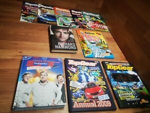 🌟TOP GEAR and The Grand Tour books bundle🌟Clarkson, Hammond, May, Cars books