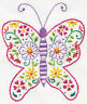 Stamped Embroidery Kit ~ Design Works Butterfly #DW3305