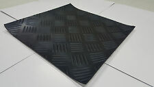 CHECKER Self-Adhesive Rubber Safety Mat 12 in. x 12 in.