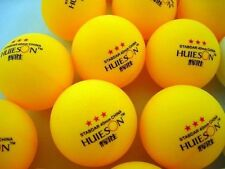 New 100Pcs standar 3-Stars 40mm Olympic Table Tennis Ball Pingpong Balls Orange