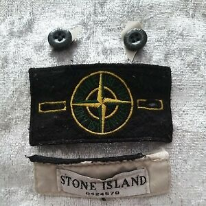 Stone Island badge and buttons GENUINE!