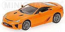 Toyota Lexus LFA 2010 orange 1:43 Minichamps