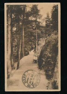 Russia WIBORG Papula Park 1916 PPC to Wales + censor 302 cachet