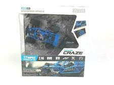 Power Craze High Speed Mini RC Car - Blue