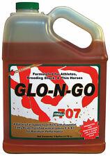 GLO-N-GO Liquid Joint Horse Coat Weight Gain Fat Supplement Vitamins E B1 1 Gal