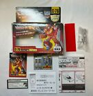 Vintage Takara Transformers G1 C-78 HOT ROD Opened Box Instructions DECALS Gun
