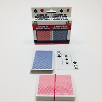 2 Decks Of Playing Cards - 1 Sealed 1 Open/Complete