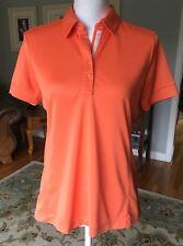 Greg Norman shirt size Small Womens orange Golf Top golfing Women's
