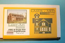 Single Stall Engine House # 883 N Scale by Branchline trains