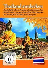 THAILAND ENTDECKEN - BANGKOK/DAMNOEN SADUAK/RIVER KWAI/+   DVD NEU