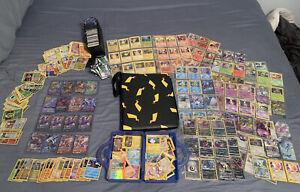 Huge Collection Of Pokemon Cards Binder Lot Full Arts Holographics BULK more