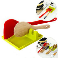 New Silicone Spoon Rest Heat Resistant Teabag Tidy Holder - Cooking Utensil Dish