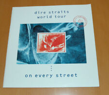DIRE STRAITS WORLD TOUR ON EVERY STREET 1991 92  PROGRAMME ORIGINAL