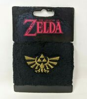 New Bioworld Loot Crate Exclusive Legend of Zelda Black Wrist Sweatband FP20