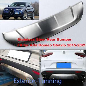 1 PCS Fits for Alfa-Romeo Stelvio 2017-2021 Rear Skid Plate Bumper Guard Bar