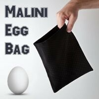 Magician's Malini Eggs Bag With Egg Vanishing Routines Real Stage Magic Trick