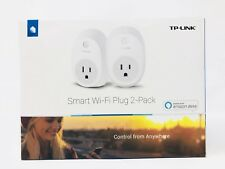 TP-Link HS100 Smart Plug (2-Pack) Wi-Fi Works with Alexa Control Your Devices...