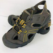 0b79d330afcc Men s Ozark Trail Fisherman Sport Sandal with Memory Foam Size 8 Brown Shoe