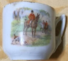 Fox Hunt Hunting Rider Demitasse German Cup