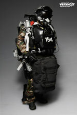 VERY HOT U.S. NAVY SEAL HALO UDT JUMPER CAMO DRY SUIT SET 1/6 (NO Head & Body)