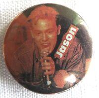 Jason Donovan - Old Clásico 1990`S Botón Insignia Seguridad Pin 25mm