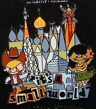 Disney It's a Small World Attraction Logo Cowboy Hawaiian Girl Pin New Release