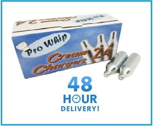 PRO WHIP Nitrous Oxide Cream Chargers Whipped Cream N2O gas NOS NOZ 8g CANISTER