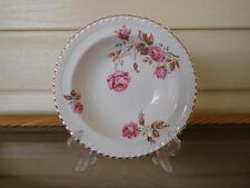 "Johnson Bros. Old English ""Miniver Rose"" Dessert Bowl England 1930s"