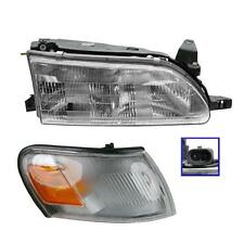 1993 - 1997 TOYOTA COROLLA HEADLIGHT AND CORNER LIGHT LAMP RIGHT PASSENGER SIDE