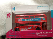 London 2012  olympic games  London   bus diecast  corgi model