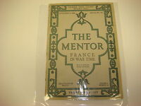 The Mentor Serial No. 167 Nov 15, 1918 France In War Time 6 Photo Gravures M853
