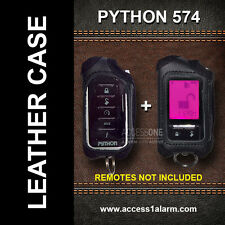 Python 574 Protective Leather Remote Control Case For Both Remote Controls