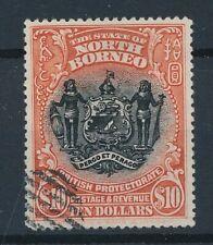 [54542] North Borneo 1911 good Used Very Fine stamp $120