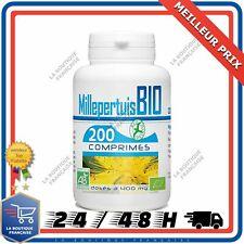 Millepertuis Bio AB 200 Comprimés 400 mg Complement Alimentaire Bien Etre