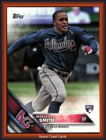 MALLEX SMITH 2016 Topps Update SP ROOKIE PHOTO VARIATION Card #US244 BRAVES