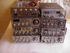 Lot of 8 Cobra Mobile Cb Radios Tech Specials For Parts