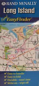Long Island, New York - Laminated EasyFinder Map by Rand McNally