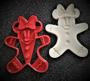 3D Printed MINNIE Mouse Gingerbread man Cookie Cutter