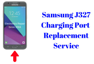 Samsung Galaxy J3 J327 Emerge Eclipse Express Charging Port Replacement Service