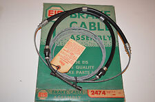 1966, 1967, 1968, 1969, 1970 Ford Falcon Rear Brake Cable EIS #2474