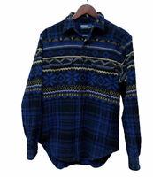 Polo Ralph Lauren Beacon Southwest Indian Blanket Thick Cotton Flannel Shirt S