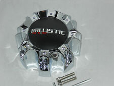 BALLISTIC WX05C WX-05-165.1/170-8H S711-14 WHEEL RIM CHROME CENTER CAP 8 LUG